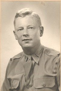 Capt. Glyn Morris, U.S. Army, 1942 - 1944