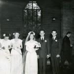 wedding photograph including Jack Martin