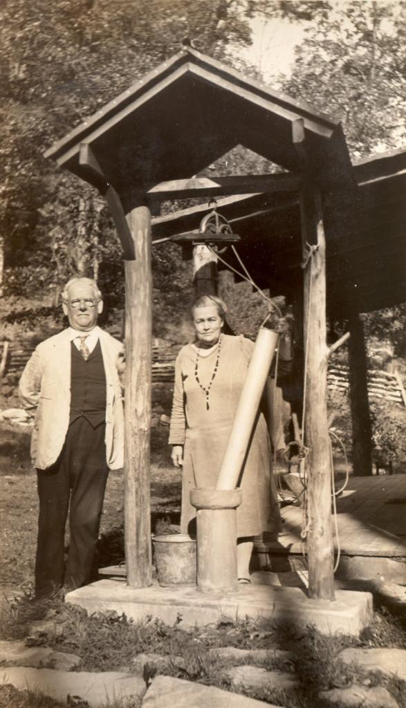 Marian Kingman Album - Dr. and Mr. Stapelton