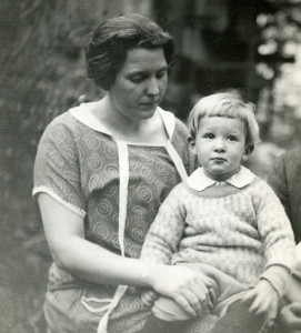 May Ritchie Deschamps and her son, Alfred Deschamps. X_099_workers_2501b_mod.jpg