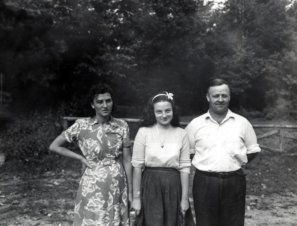 Ella Wilder, daughter Barbara and Brit Wilder. Brit and Ella worked at Pine Mountain for over forty years. X_100_workers_2603d_mod.jpg