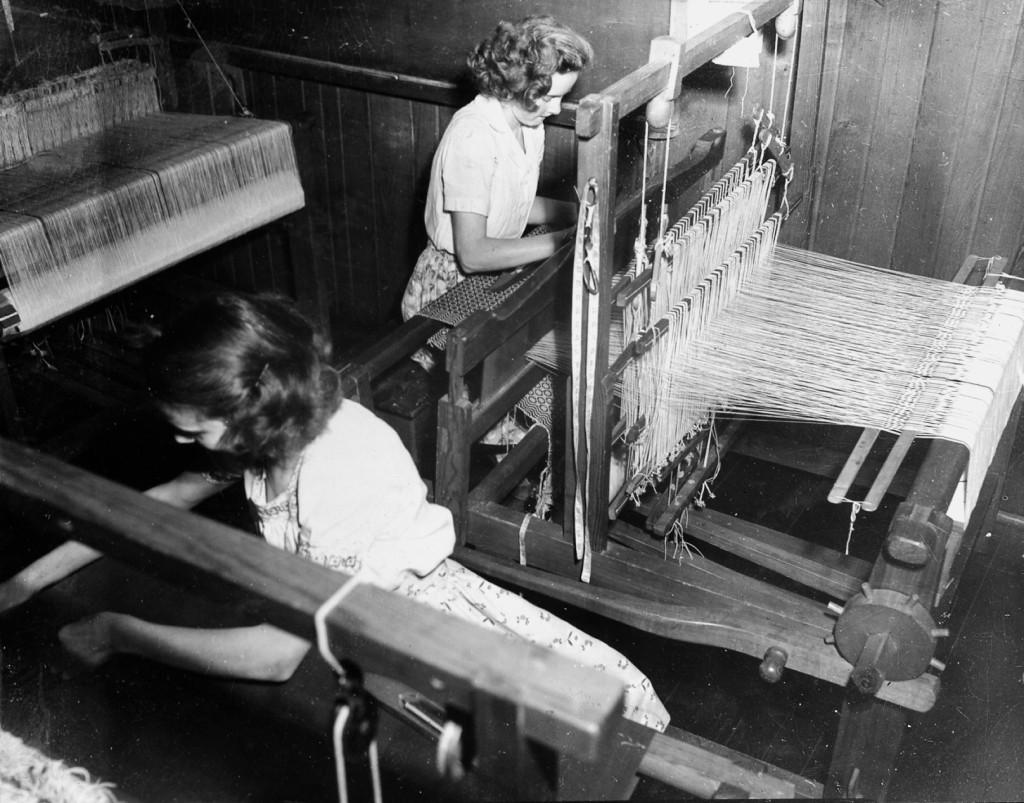 Weaving Room: Bess Taylor, Reba Blevins nace_1_061a.jpg