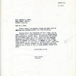 Mary Rockwell Hook Correspondence 1933