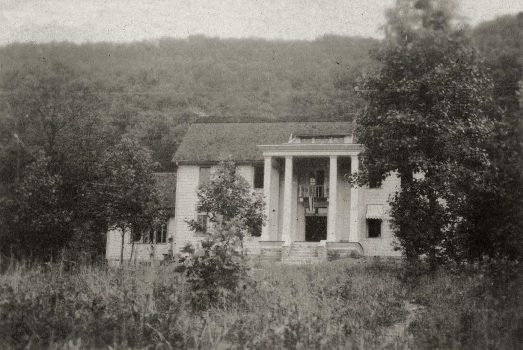 "Burkham School House I. Angela Melville Album II, Part I. ""1st M.S.B. Schoolhouse""[melv_II_album_010.jpg]"