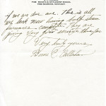 "B.C. ""Boone"" Callahan Correspondence"