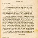 Katherine Pettit Correspondence