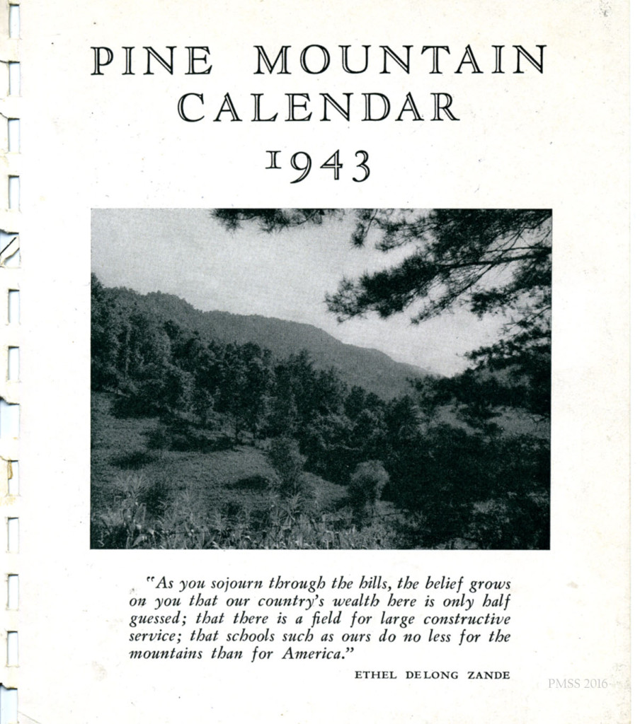 1943 Calendar. 03