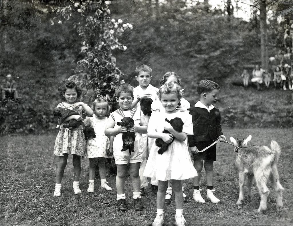 May Day celebration, c. 1945-46.