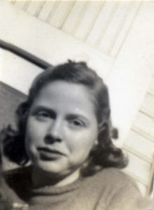 Barbara Spelman, application photograph, c. 1940. [spel_b_002.jpg]
