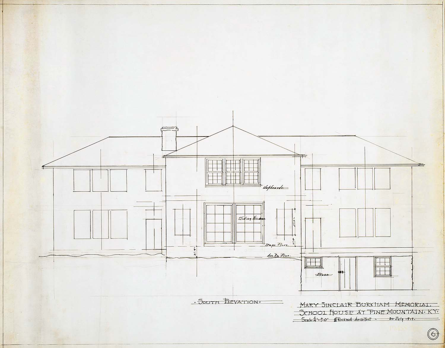 Guide Architectural Drawings At Pmss Pine Mountain Settlement