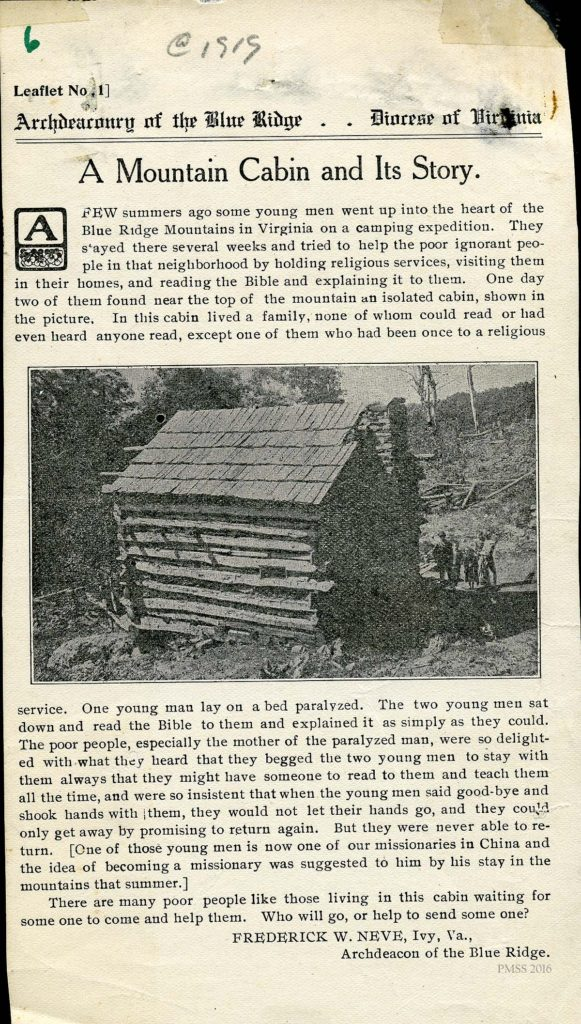 "Scrapbook Before 1929: ""A Mountain Cabin"" & ""'Toting' Fodder ...'"""