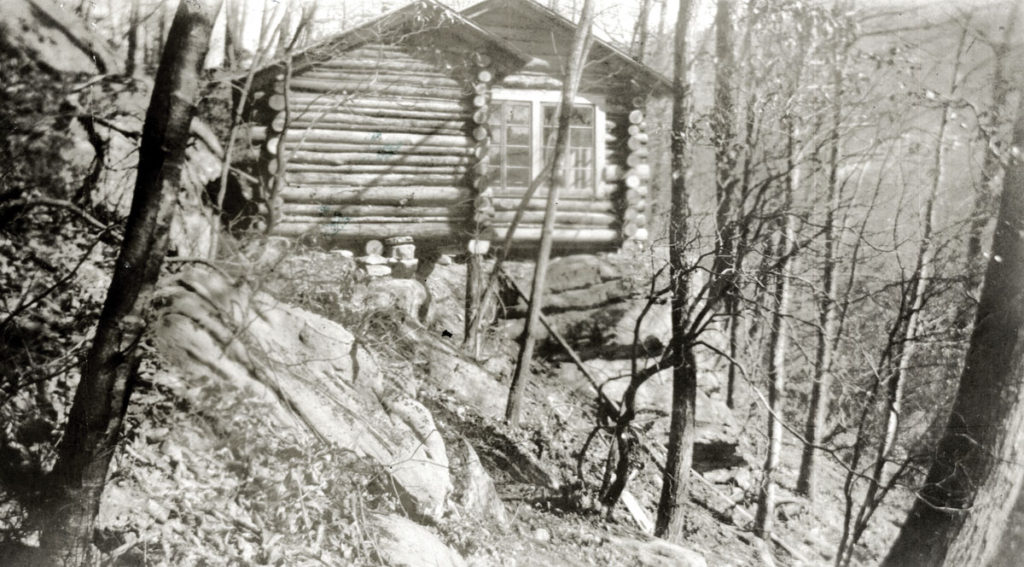 """Little Log, c. 1933."" [neff_vennie_002x]"