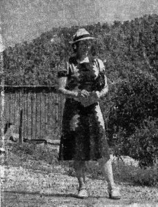 Oma Creech, 1943.
