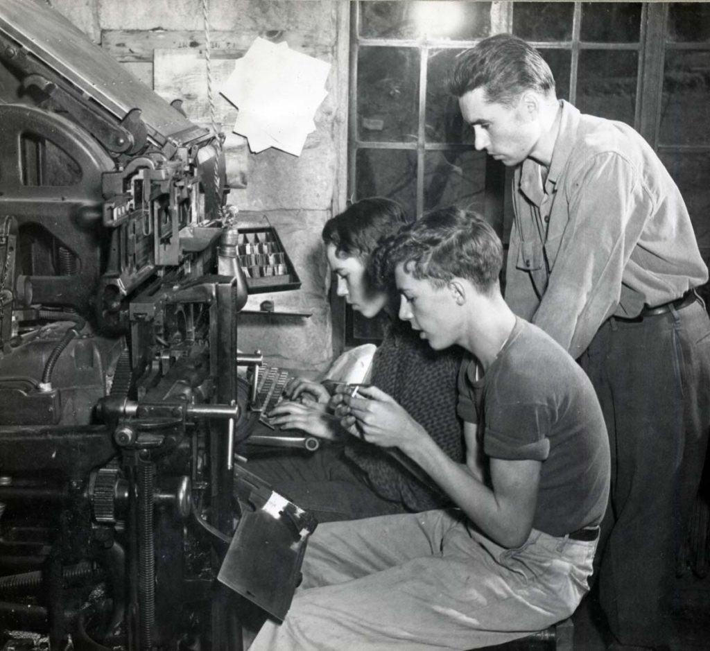 EDUCATION 1936 Pine Mountain's Industrial Courses