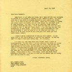 MARY ROCKWELL HOOKCorrespondence 1927