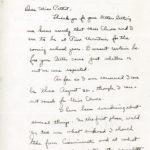 Jessica Price Correspondence, p.1