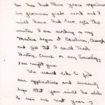 handwritten letter from Russell to Pettit